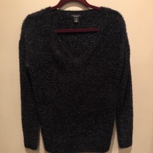 Black Halogen metallic sweater